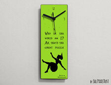 Alice in Wonderland -Who in the world am I? Ah, that's the great ... -Wall Clock