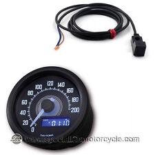 Kit sensore + Contachilometri Elettronico Daytona Dark Luce Bianca 200Km/h