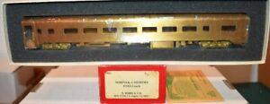 Norfolk & Western N&W 1001 Coach Soho Brass HO UP (1901)  S22.7