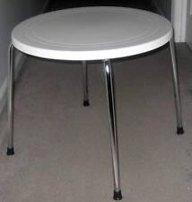 NEW! ITALMODERN TIVOLI SMALL TABLE White/Chrome