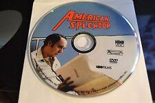 American Splendor (DVD, 2004)Disc Only Free Shipping