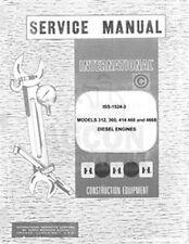 International D-312 360 414 466 DT-466B UD-312 360 Diesel Engine Service Manual