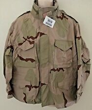 NEW USGI 3 COLOR DESERT CAMO M65 FIELD JACKET XL SHT (NWT)