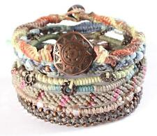 Wakami's Unisex Earth Bracelet Earth With 7 Strands Made in Guatemala WA0389-10