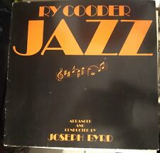 Ry Cooder ‎– Jazz Lp Germany Issue Warner Bros. Records VG+/EX+