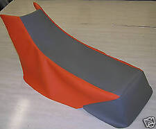 yamaha warrior  seat cover 350 gray/orange  (other colors)