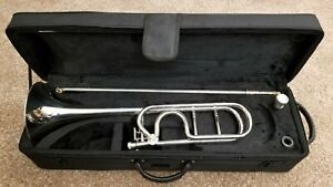 PRICE REDUCED! Andalucia Bb/F Large Bore Silver Trombone BRAND NEW