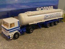 1/87 Herpa Scania 142 SCANIA TANK Sattelzug #496