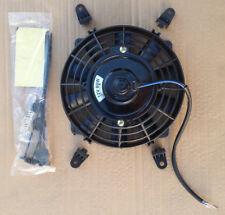 7 Inch Universal Slim Fan Push Pull Electric Radiator Cooling 12V Mount Kit
