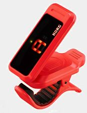Tuner KORG PC-1 Pitchclip Low-Profile Clip-on Guitar Chromatic Instrument Red