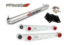 SKUNK2 Lower Control Arm Alpha+Bar Phi Fifty Clear 96-00 Honda Civic EK