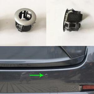 1x For Mazda 3 Axela 2014-2018 Rear Bumper Reversing Radar Support Braket Silver
