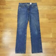 Lucky Brand Jeans 28x31 Straight Feathered Size 6 Vintage Inspired 28 in. Waist