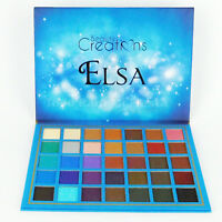 Beauty Creations Elsa Eyeshadow Palette Shades Highly Pigmented Sombras Ojos