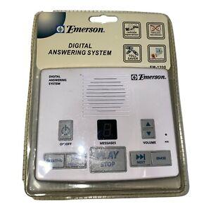 Emerson Digital Answering Machine System Tapeless Recording Model EM-1200