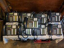 7 Nortel T7316E 2 Lines Corded Phones