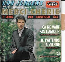 EP 4 TITRES--UOD JURGENS--MERCI CHERIE / CA NE VAUT PAS L'AMOUR