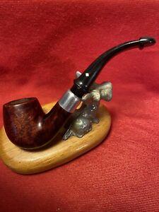 Vintage Dr Grabow Omega Estate Smoking Pipe - Smooth Bowl - 6MM Filter