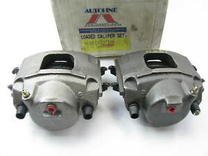 1989-1993 Ford Taurus REMAN. Front Left & Right Brake Caliper Set + Brake Pads
