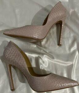 "NIB Women's YEVRAH ""Elaine"" Blush Pink Stiletto Heel  Sz 42(US 10/11) MSRP $350"