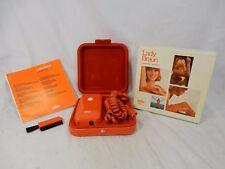 Marrone collectors item: LADY MARRONE Cosmetic Shaver + original box + manual rettangolare