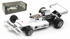 Spark S7485 Williams FW #20 Brazilian GP 1975 - Arturo Merzario 1/43 Scale