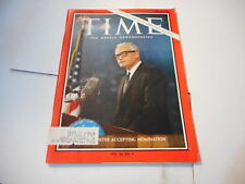 JULY 24 1964 TIME news magazine - GOLDWATER accepting nomination