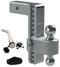 "Weigh Safe Class 5 180 Hitch Adjustable 10"" Drop Dual Ball Mount #LTB10-2.5-KA"