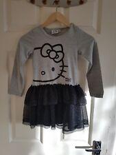 Girls Hello Kitty Dress 5/6 Yrs