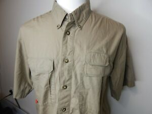 the north face size medium air vented outdoor, spotsman,  fishing shirt