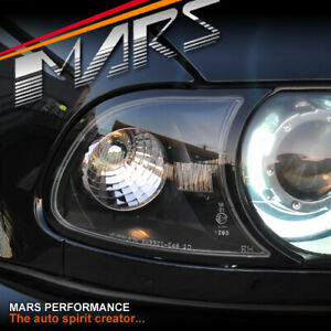 Black Bar Corner turn signal indicator lights for BMW 3 Series E46 99-02 Coupe