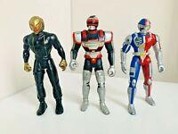 VR Troopers Action Figures Kenner Saban Bandai 1994 TV Power Rangers Ryan Steel