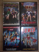 Agents of Power-Super Babes-Heroines of Sword/Fury DVDs-sexploitation-superhero