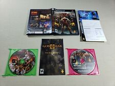 God of War II Sony PlayStation 2 PS2 Authentic Original Complete