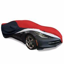 2014+ C7 CORVETTE STINGRAY ULTRAGUARD PLUS CAR COVER - INDOOR/OUTDOOR: RED/BLACK