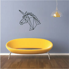Horse Head Quote Removable Vinyl Decal Art Mural DIY Home Decor Wall Stickers