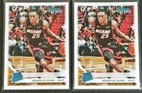 Lot (2) Kendrick Nunn 2019-20 Panini Chronicles Miami Heat Update Rated Rookie