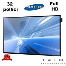 """Monitor Samsung DB32D PC Bureau 32 """" FHD 1920 x 1080 HDMI VGA DVI LED 8 Ms Attac"""