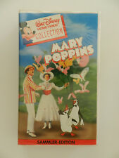 VHS Video Kassette Mary Poppins Sammler Edition Walt Disney Home Collection