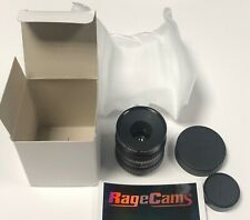 PHF12 HD Canon 12mm Manual Iris TV Video Lens C-Mount CCD CMOS For Basler Flea3