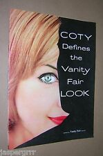 1958. VANITY FAIR MAGAZINE COTY COSMETICS SUPPLEMENT. VINTAGE FASHION STYLE