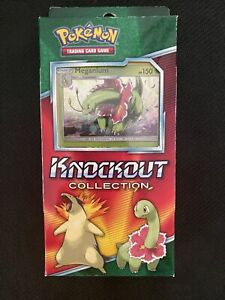 Pokemon Knockout Collection - Meganium - Booster Pack Box - Trading Card Game