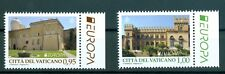 "2017 Vatican City Sc# 1655-6, Europa 2017: ""Castles"""
