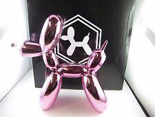 Balloon Dogs- Pink Metallic finish/ Home decor/ Fine craft/ Perfect gift/