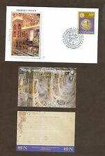 Vatican City Sc# 1451, Reopening of Vatican Library - Minibook, First Day Cover