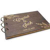 Custom Wedding Guestbook, Personalized Guest Book, Wood Guestbook, Wedding Gift
