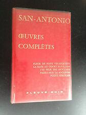 Dard San Antonio oeuvres complètes Fleuve Noir tome 1 TTBE