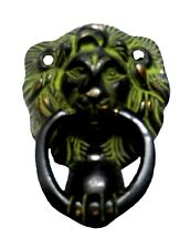 Lion Design Doorbell Victorian Vintage style Solid Brass Handmade Door Knocker