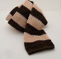 "EIDOS NAPOLI Men's Tie Assort-2 Pink/Brown Silk/Linen  ""FREE SHIPPING"""