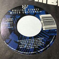 45 RPM J48 Rolling Stones Mixed Emotions / Fancy Man Blues RS 69008 VG+